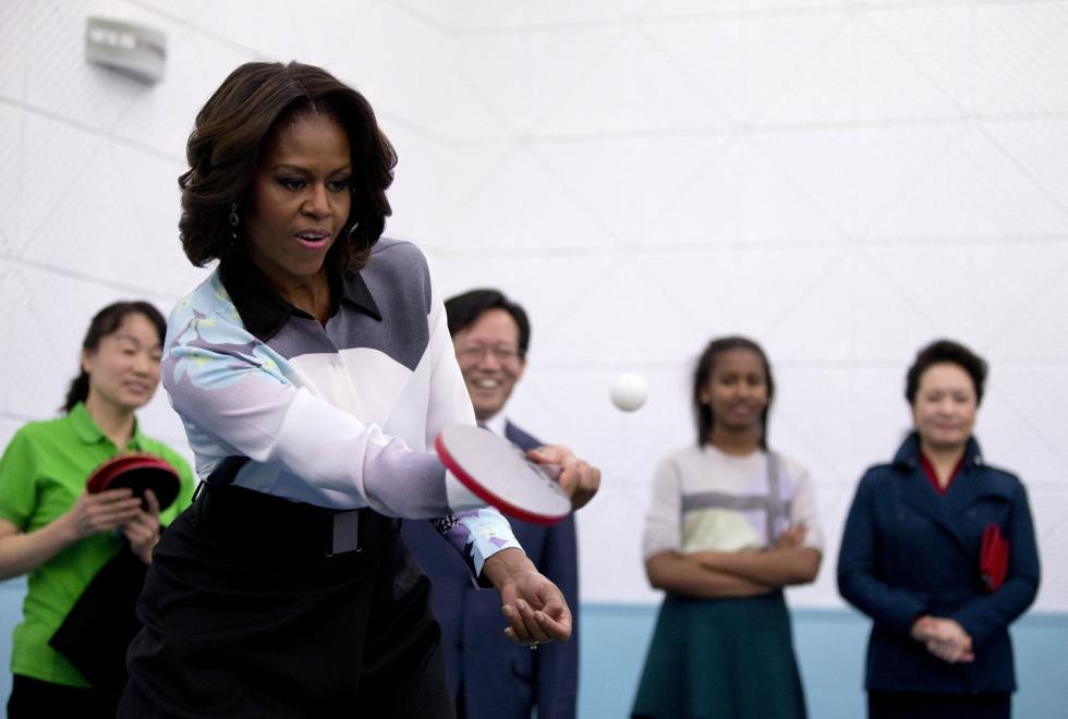 Под какую музыку тренируется Мишель Обама-Фото 1