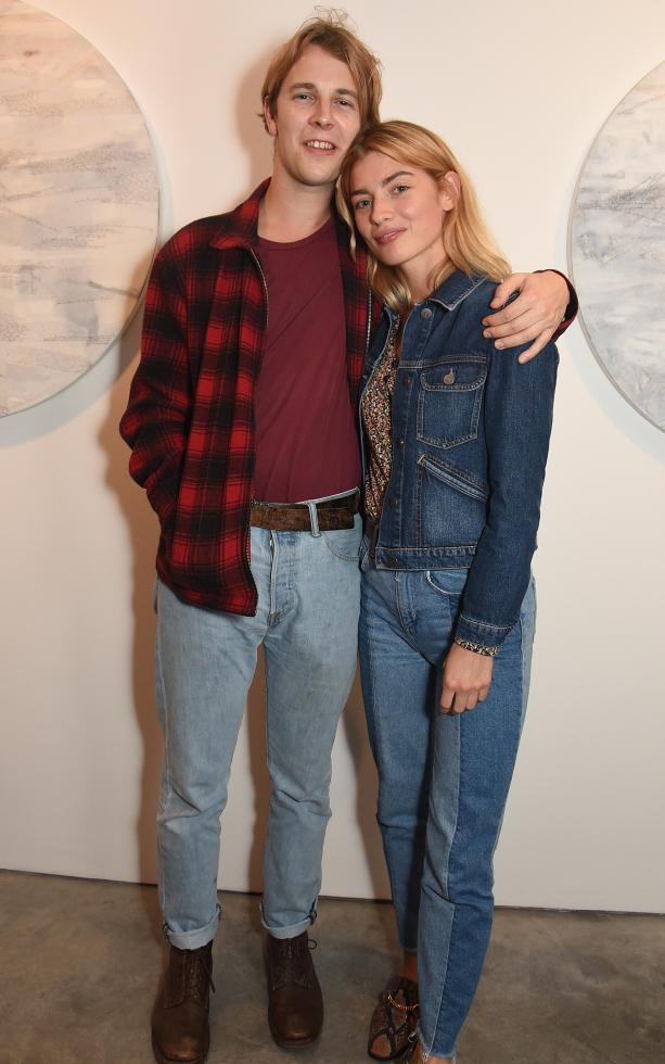 том оделл с девушкой