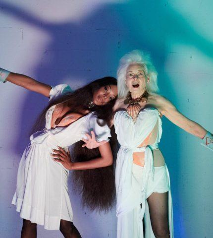 Наоми Кэмпбелл снялась для рекламной кампании Vivienne Westwood-430x480