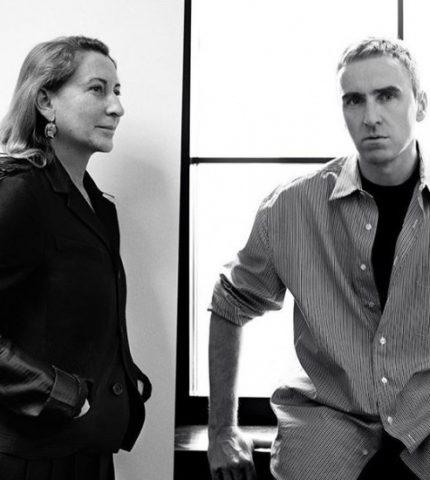 Раф Симонс присоединился к Prada в качестве второго креативного директора-430x480