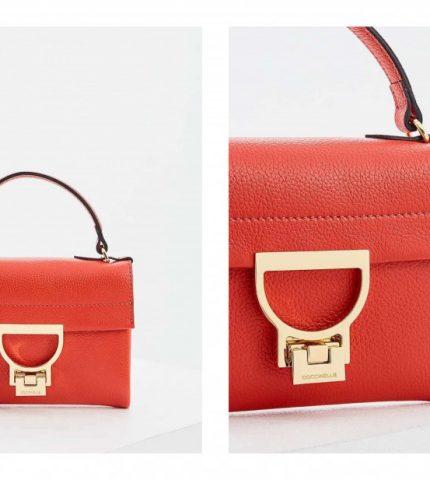 #MCLikes: красная мини-сумка Coccinelle-430x480