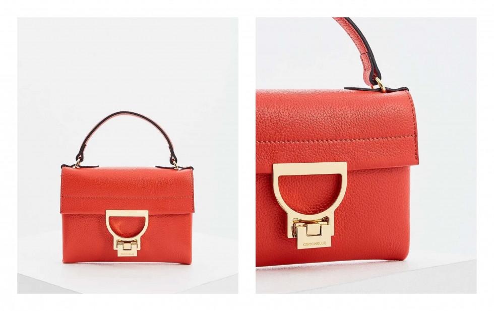 #MCLikes: красная мини-сумка Coccinelle-Фото 1