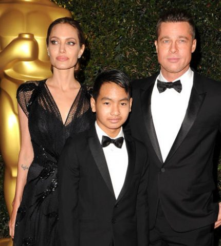 Брэд Питт не посетил премию BAFTA из-за сына Мэддокса-430x480