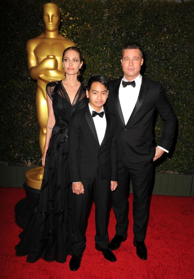 Брэд Питт не посетил премию BAFTA из-за сына Мэддокса-Фото 1