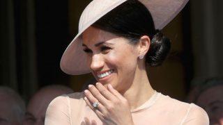 Меган Маркл стала единственным членом королевской семьи, вошедшим в список влиятельных людей Великобритании-320x180