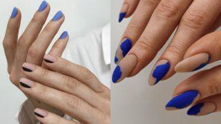 20 идей для маникюра в синем цвете-320x180
