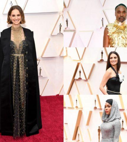 Лучшие образы знаменитостей на церемонии «Оскар 2020»-430x480