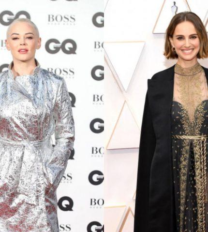 Роуз Макгоуэн обвинила Натали Портман в лицемерии из-за наряда на «Оскаре»-430x480