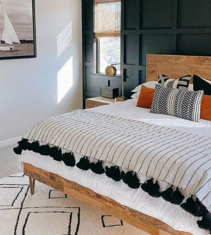 4 тренда в декоре спальни-430x480