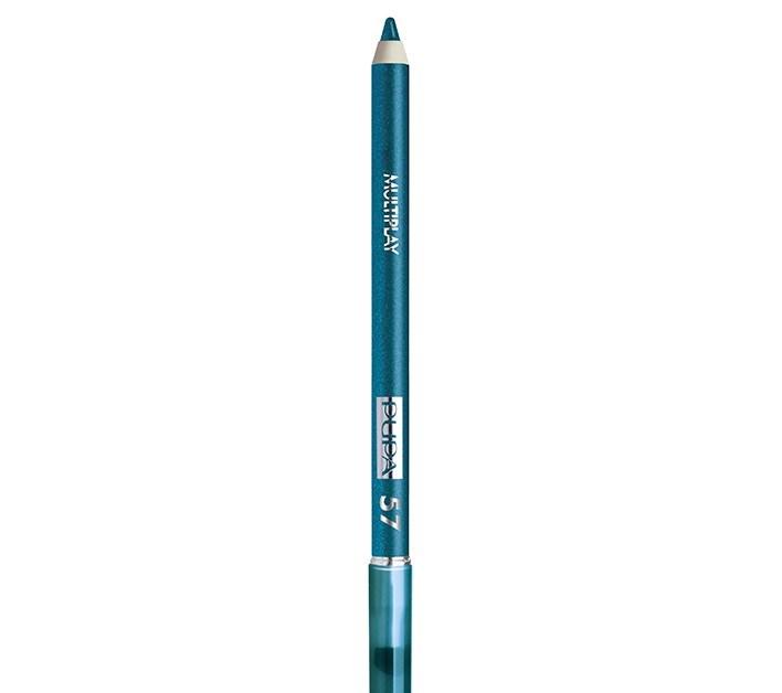 Макияж с главным цветом 2020 года — классическим синим-Фото 3