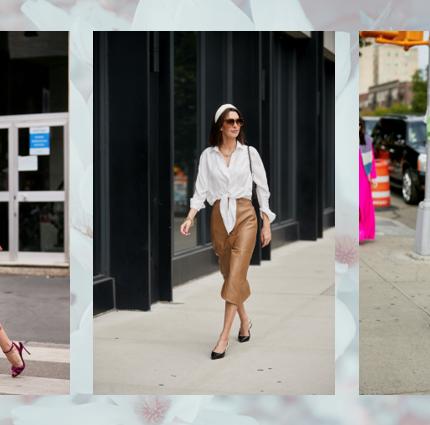 Плиссированные, атласные, асимметричные — самые желанные юбки весны-430x480