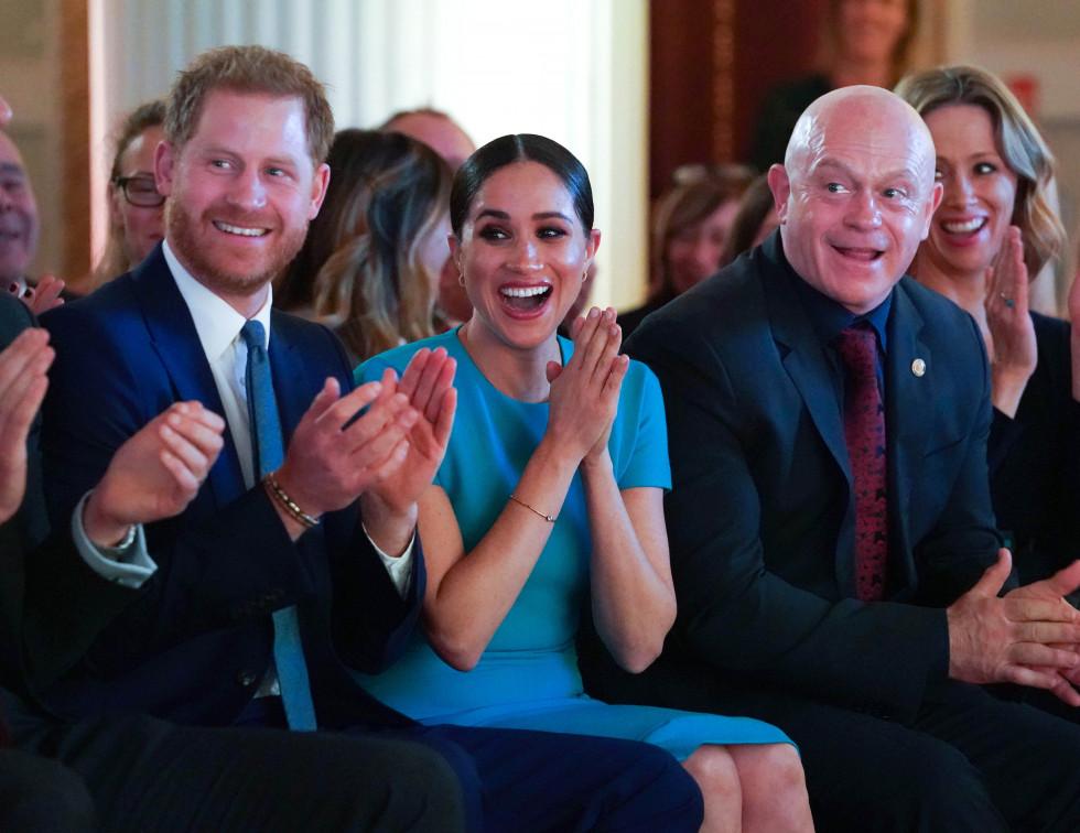 Меган Маркл и принц Гарри впервые официально вышли в свет после «Megxit»-Фото 2