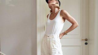 Как носить белые джинсы: 10 стильных образов-320x180