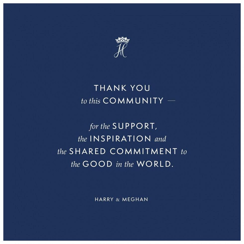 Принц Гарри и Меган Маркл опубликовали прощальный пост в Instagram-Фото 2