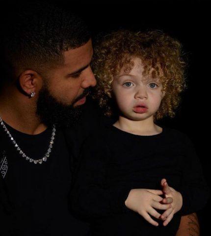 Дрейк впервые опубликовал фотографии двухлетнего сына-430x480