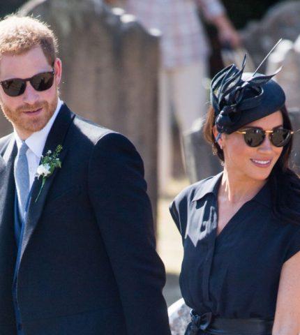 Меган Маркл и принц Гарри проведут летние каникулы с королевой Елизаветой II-430x480