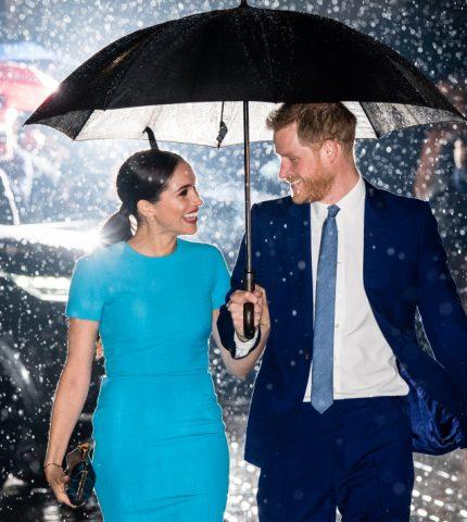 Меган Маркл и принц Гарри впервые официально вышли в свет после «Megxit»-430x480