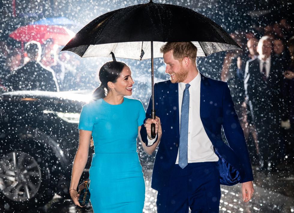 Меган Маркл и принц Гарри впервые официально вышли в свет после «Megxit»-Фото 1