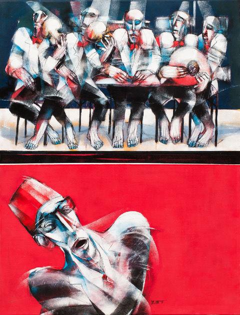 Женщины из мира искусства: Моуна Атасси-Фото 5