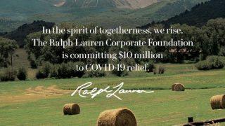 Фонд Ralph Lauren пожертвовал 10 миллионов долларов на борьбу с COVID-19-320x180