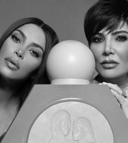 Ким Кардашьян представила новый аромат в коллаборации с Крис Дженнер-430x480