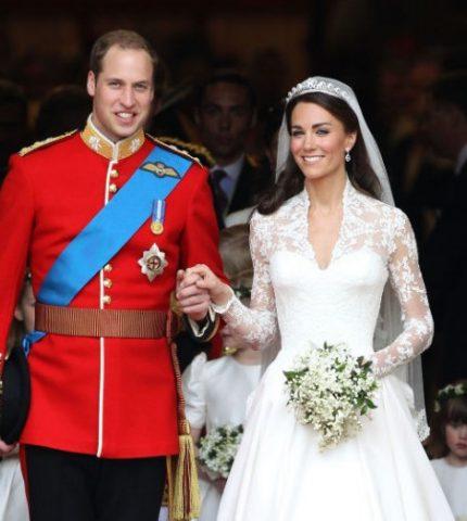 Кейт Миддлтон и принц Уильям: королевская история любви-430x480
