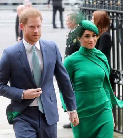Меган Маркл и принц Гарри назвали новый благотворительный фонд в честь сына-430x480