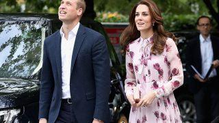 Принц Уильям и Кейт Миддлтон устроили сюрприз школьникам и их учителям с помощью видеозвонка-320x180