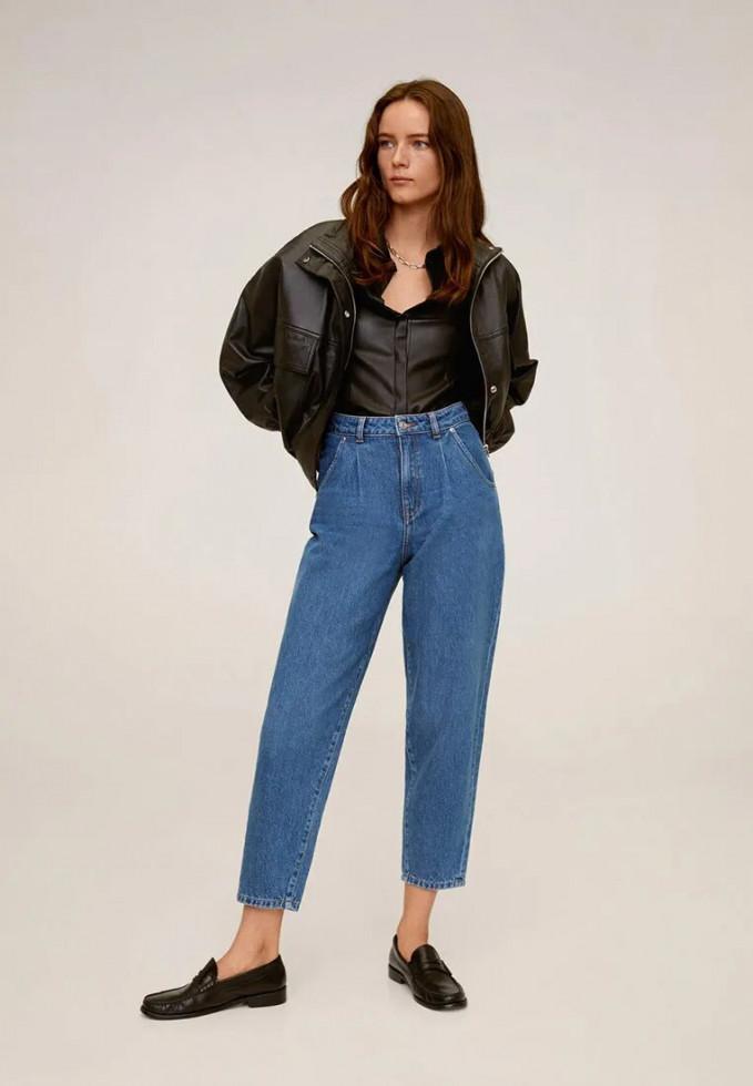 джинсы манго