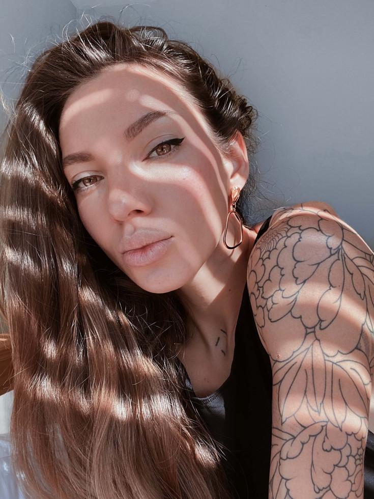 Тату-артист Саша Sashatattooing рассказала об Адаме Левине, первой татуировке и переезде в США-Фото 2