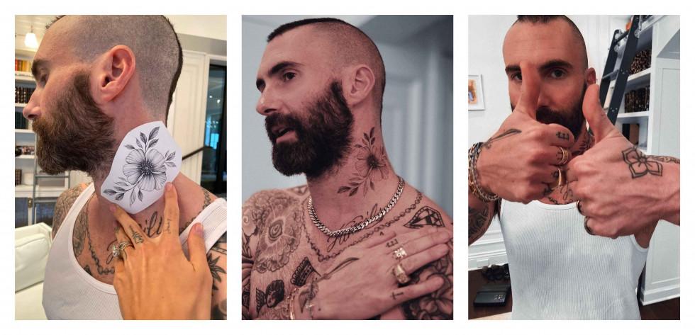 Тату-артист Саша Sashatattooing рассказала об Адаме Левине, первой татуировке и переезде в США-Фото 3