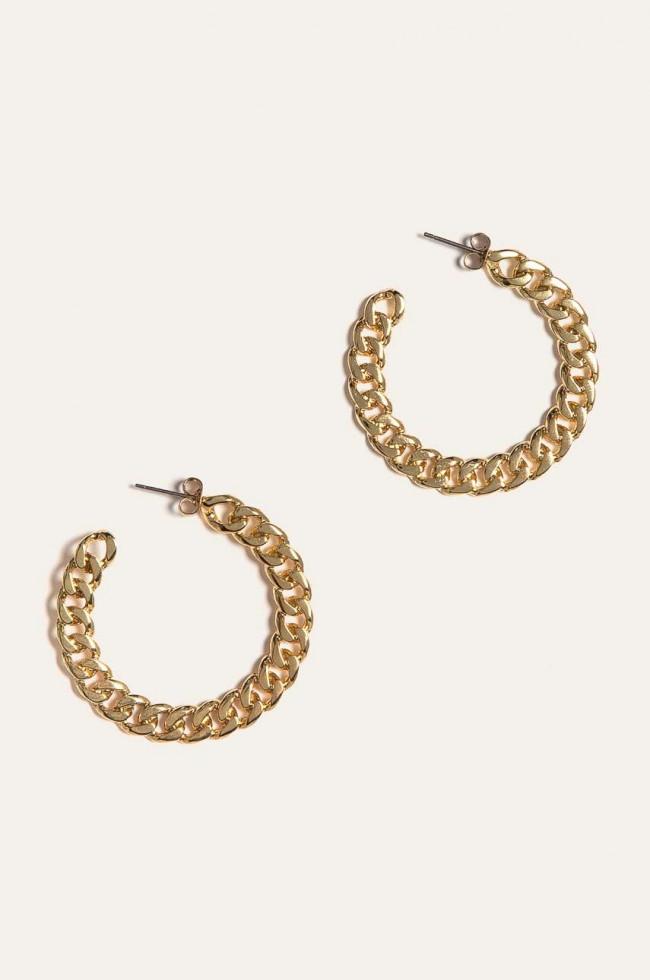 сережки кольца бижутерия