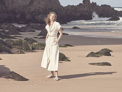 Дорога к морю: съемка Marie Claire в Португалии-430x480