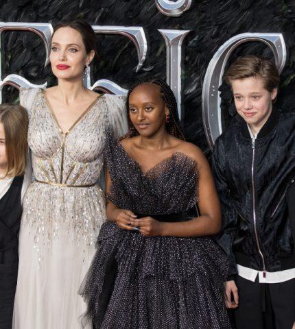 Брэд Питт и Анджелина Джоли вместе отпраздновали день рождения дочери Шайло-430x480