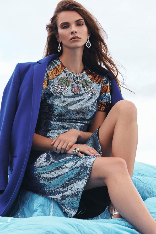 Marie Claire Ukraine Catherine Harbour London Fashion 5