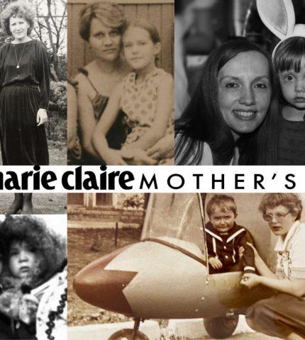 «Тоді й зараз»: команда Marie Claire ділиться архівними фото з мамами-430x480