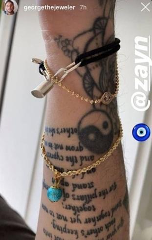 Новая татуировка Зейна Малика намекает на помолвку с Джиджи Хадид-Фото 3