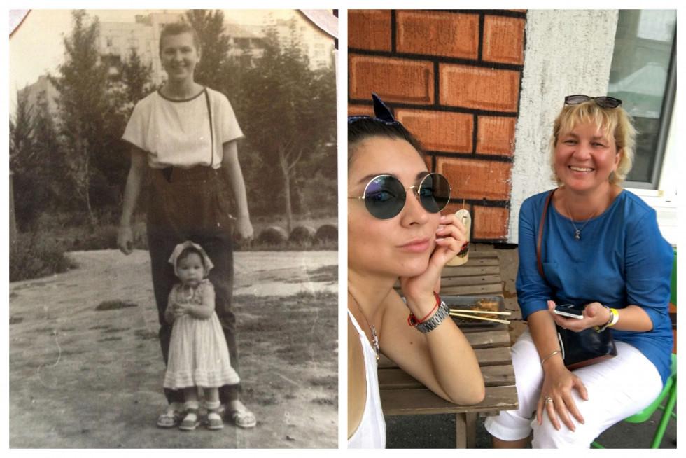 «Тоді й зараз»: команда Marie Claire ділиться архівними фото з мамами-Фото 2