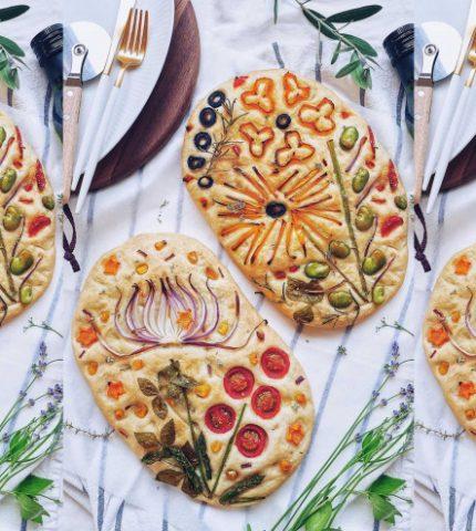 Новый food-тренд из Instagram: фокачча как произведение искусства-430x480