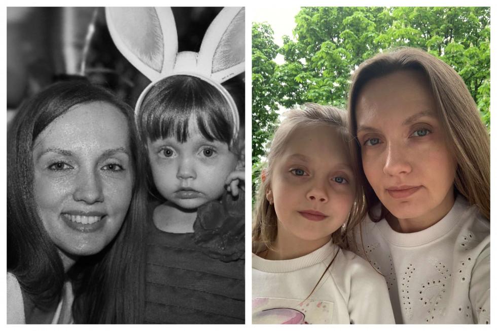 «Тоді й зараз»: команда Marie Claire ділиться архівними фото з мамами-Фото 6