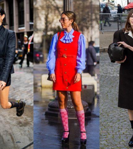 Модный аксессуар: как стильно носить носки и сочетать с другими вещами-430x480