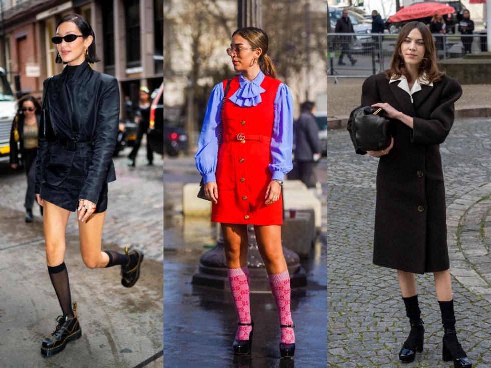 Модный аксессуар: как стильно носить носки и сочетать с другими вещами-Фото 1