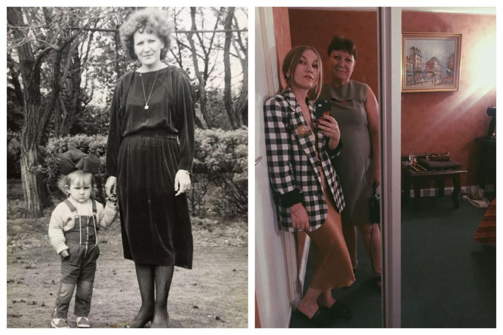 «Тоді й зараз»: команда Marie Claire ділиться архівними фото з мамами-Фото 4