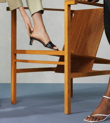 Обувь на миди-каблуке — комфортный тренд лета-430x480