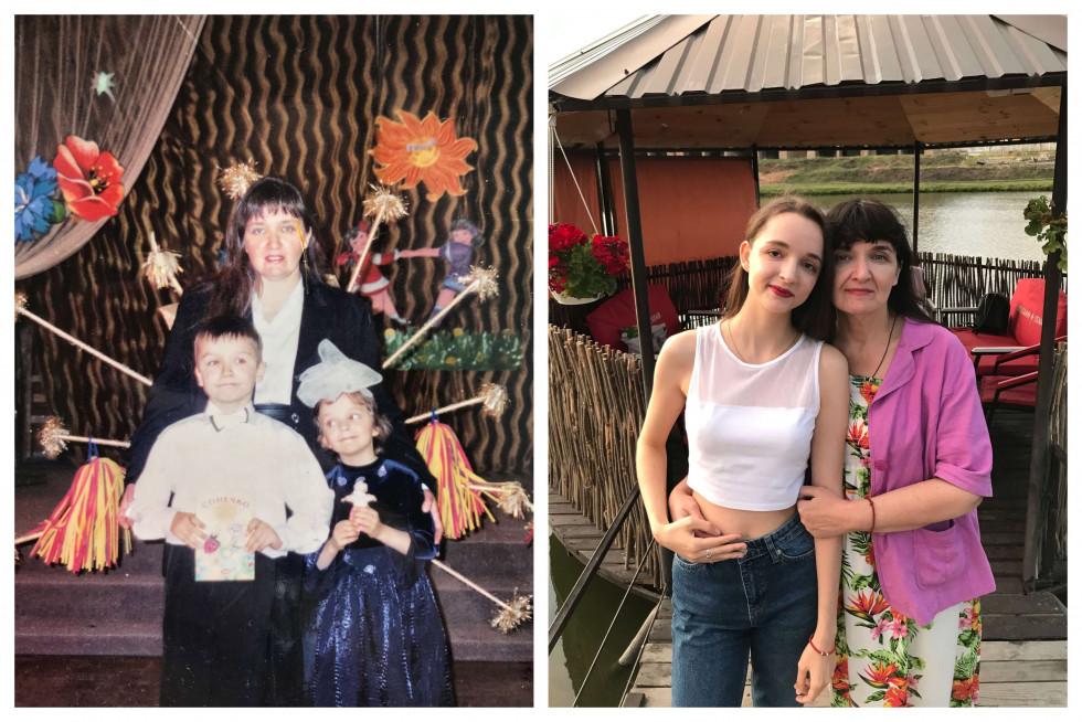 «Тоді й зараз»: команда Marie Claire ділиться архівними фото з мамами-Фото 8