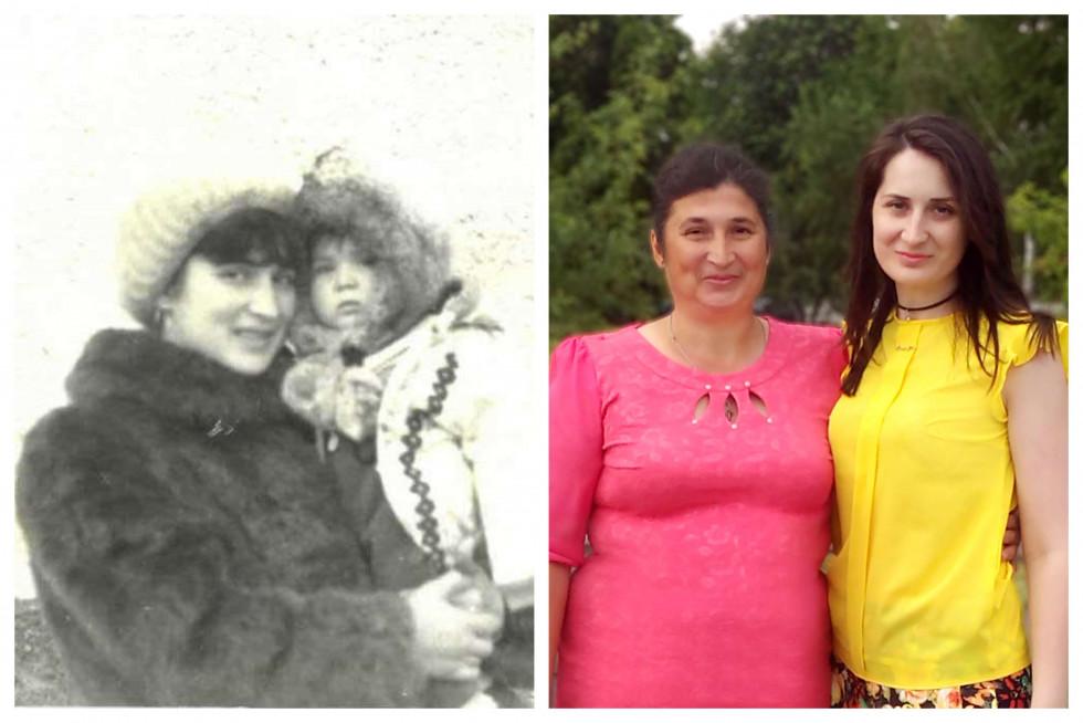 «Тоді й зараз»: команда Marie Claire ділиться архівними фото з мамами-Фото 3
