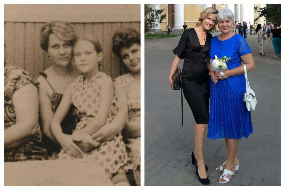 «Тоді й зараз»: команда Marie Claire ділиться архівними фото з мамами-Фото 5