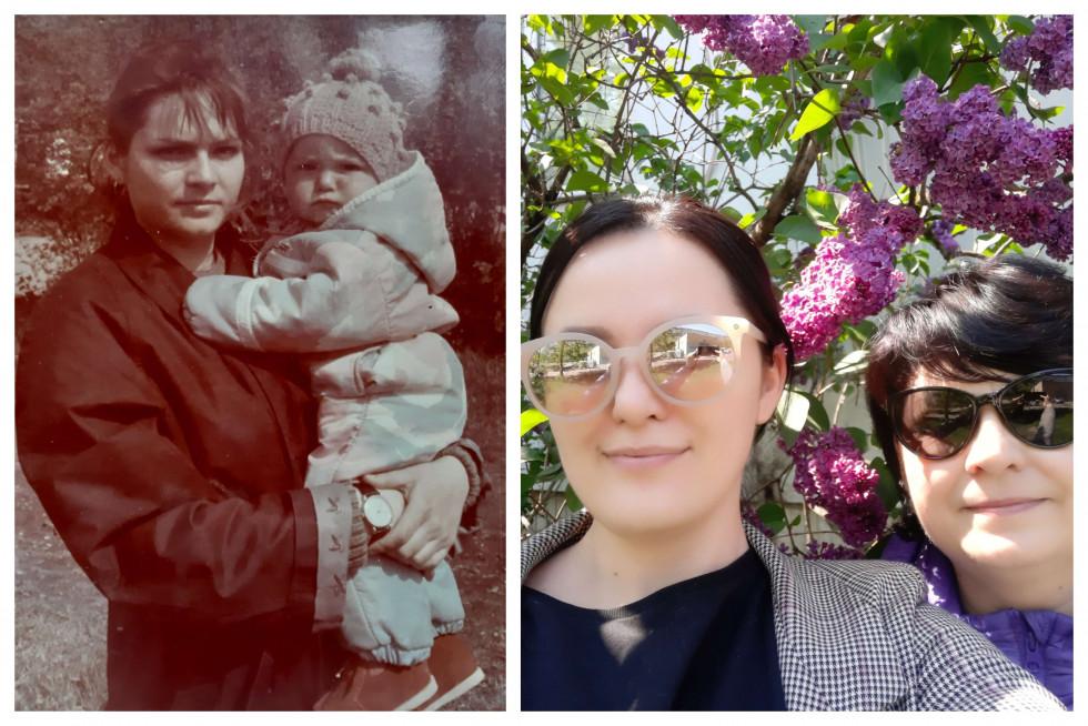 «Тоді й зараз»: команда Marie Claire ділиться архівними фото з мамами-Фото 7