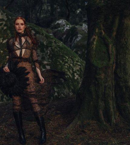 Спрятанная красота: Эксклюзивная съемка для Marie Claire в Португалии-430x480