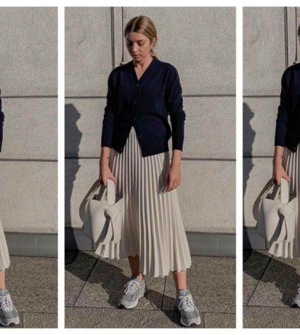 5 способов носить юбку-миди-430x480
